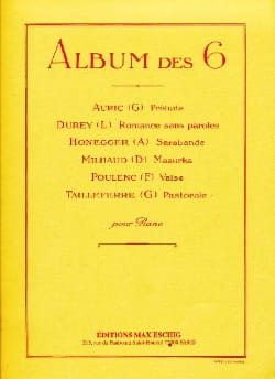- Album of 6 - Sheet Music - di-arezzo.co.uk