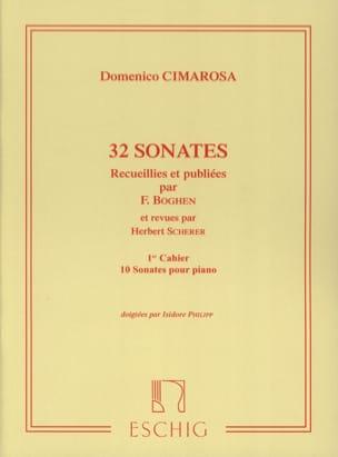 Domenico Cimarosa - 32 Sonaten Band 1 - Noten - di-arezzo.de
