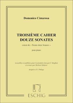 32 Sonates Volume 3 CIMAROSA Partition Piano - laflutedepan