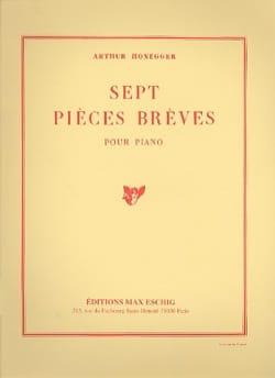 Arthur Honegger - 7 Short Pieces - Sheet Music - di-arezzo.co.uk