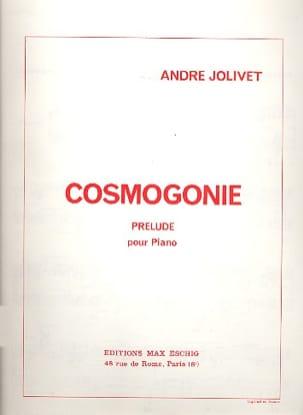 Cosmogonie André Jolivet Partition Piano - laflutedepan