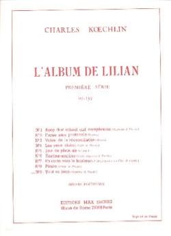 Charles Koechlin - Tout Va Bien op. 139-9 - Partition - di-arezzo.fr