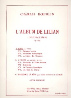 Charles Koechlin - Lilian's album 2nd Series Op. 149 - Sheet Music - di-arezzo.co.uk