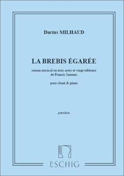 Darius Milhaud - La Brebis Egarée - Partition - di-arezzo.fr