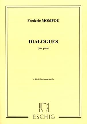 Federico Mompou - Dialogues - Partition - di-arezzo.fr