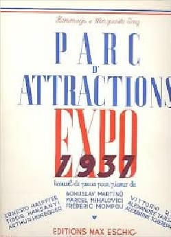 Parc d' Attractions Expo 1937 - Partition - laflutedepan.com