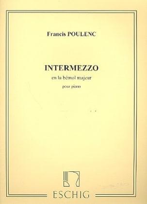Francis Poulenc - Intermezzo En la Bémol Majeur - Partition - di-arezzo.fr
