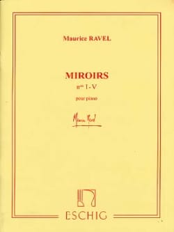 Miroirs RAVEL Partition Piano - laflutedepan