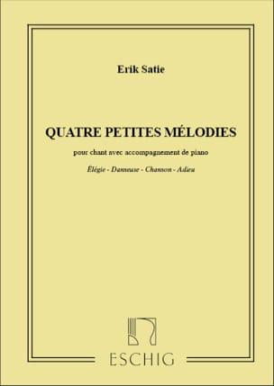 Erik Satie - 4 pequeñas melodías. - Partitura - di-arezzo.es