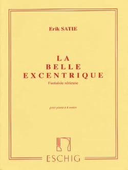 La Belle Excentrique. 4 Mains SATIE Partition Piano - laflutedepan