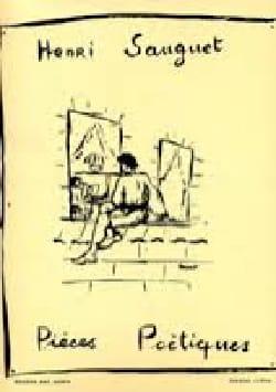 Henri Sauguet - Poetic Pieces Volume 1 - Sheet Music - di-arezzo.co.uk