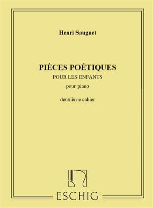 Henri Sauguet - Poetic Pieces Volume 2 - Sheet Music - di-arezzo.co.uk