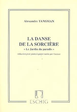 Alexandre Tansman - Danse de Sorcière. 4 Mains - Partition - di-arezzo.fr