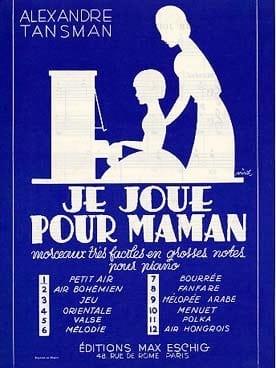 Je Joue Pour Maman N°6 : Mélodie Piano - laflutedepan.com