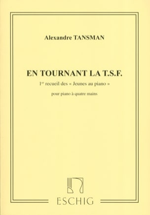 Alexandre Tansman - Young People In Piano Volume 1. 4 Hands - Sheet Music - di-arezzo.com
