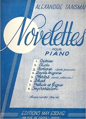 Novelette N°4 Danse Tzigane Piano - Tansman - laflutedepan.com