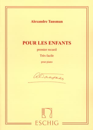 Alexandre Tansman - For Children Volume 1 - Sheet Music - di-arezzo.com