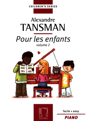 Alexandre Tansman - For Children Volume 2 - Sheet Music - di-arezzo.co.uk