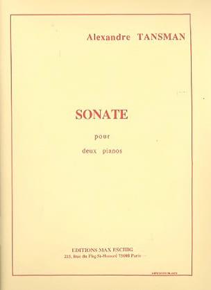 Alexandre Tansman - Sonate. 2 Pianos - Partition - di-arezzo.fr