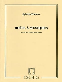 Boîte A Musiques Sylvain Thomas Partition Piano - laflutedepan