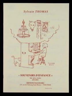 Souvenirs D'enfance - Sylvain Thomas - Partition - laflutedepan.com