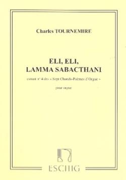 Charles Tournemire - 7 Chorals Poèmes Opus 67-4 - Partition - di-arezzo.fr