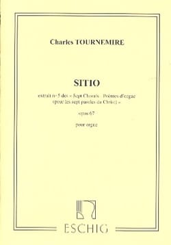 Sitio Opus 67-5. Charles Tournemire Partition Orgue - laflutedepan