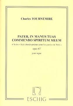 Charles Tournemire - 7 Chorals Poèmes Opus 67-6 - Partition - di-arezzo.fr
