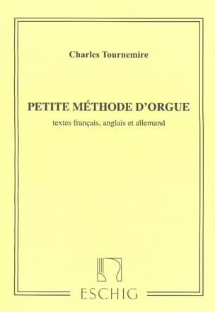 Petite Methode D'orgue Charles Tournemire Partition laflutedepan