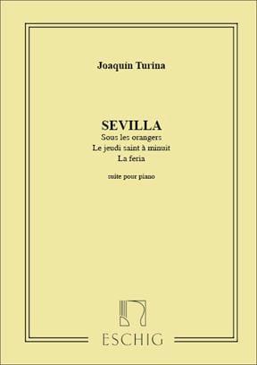 Joachim Turina - Sevilla Op. 2 - Partition - di-arezzo.fr