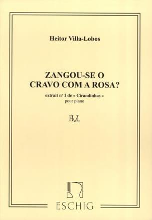 Cirandinhas N° 1 VILLA-LOBOS Partition Piano - laflutedepan
