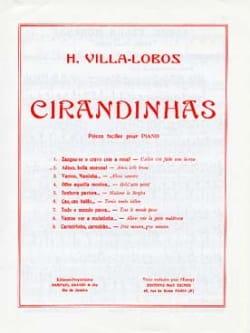 Heitor Villa-Lobos - Cirandinhas N° 2. Adeus, Bella Morena - Partition - di-arezzo.fr