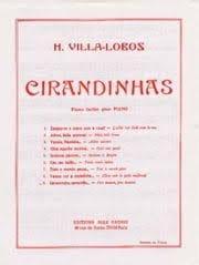Cirandinhas N° 7 VILLA-LOBOS Partition Piano - laflutedepan
