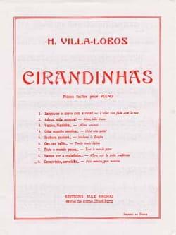 Cirandinhas N° 9 VILLA-LOBOS Partition Piano - laflutedepan
