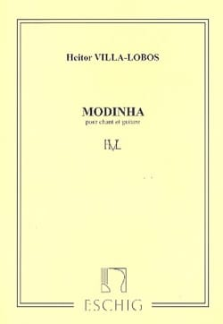 Heitor Villa-Lobos - Modinha - Sheet Music - di-arezzo.co.uk