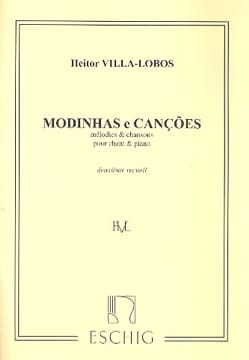 Modinhas E Cançoes. Volume 2 VILLA-LOBOS Partition laflutedepan