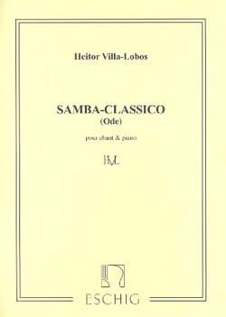 Samba Classico VILLA-LOBOS Partition Mélodies - laflutedepan