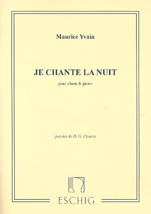 Maurice Yvain - I sing the night - Sheet Music - di-arezzo.co.uk