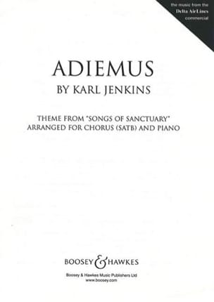Karl Jenkins - Adiemus - Sheet Music - di-arezzo.co.uk