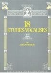 Adolfo Mindlin - 18 Studies-Vocalises - Sheet Music - di-arezzo.com