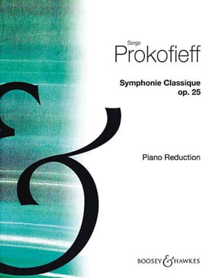 Sergei Prokofiev - Symphonie Classique Opus 25 - Partition - di-arezzo.fr