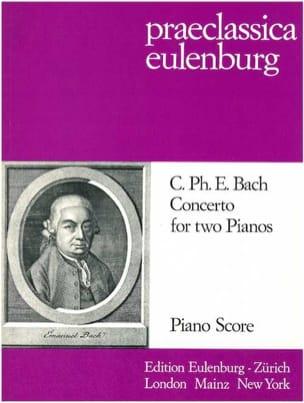 Concerto Pour 2 Pianos - Carl-Philipp Emanuel Bach - laflutedepan.com