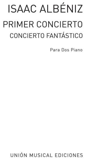 1er Concerto Opus 78. - Isaac Albeniz - Partition - laflutedepan.com