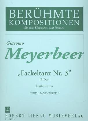 Fackeltanz N°3 Si Bémol Majeur. 2 Pianos 8 Mains - laflutedepan.com