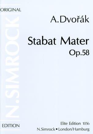DVORAK - Stabat Mater Opus 58 - Sheet Music - di-arezzo.co.uk