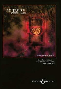 Adiemus 2. Cantata Mundi Karl Jenkins Partition Chœur - laflutedepan