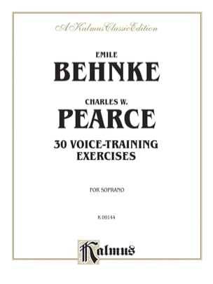 Behnke-Pearce - 30 Voice Training Exercices - Partition - di-arezzo.fr