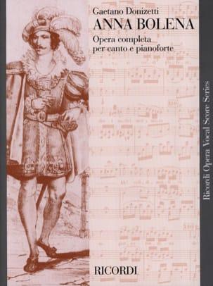 Anna Bolena Gaetano Donizetti Partition Opéras - laflutedepan