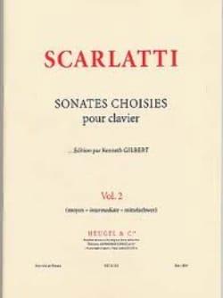 Domenico Scarlatti - Sonates Choisies Volume 2 - Partition - di-arezzo.fr