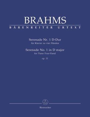 Sérénade N° 1 En Ré Majeur Op. 11. 4 Mains - BRAHMS - laflutedepan.com